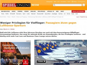 Lufthansa: Protestwelle wegen praktizierter Kundenverachtung