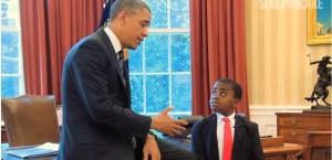 Von Obama lernen: Chancen nutzen, um menschlich rüberzukommen.