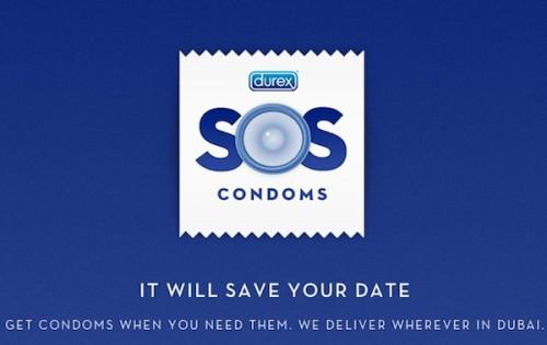 SOS Condom wird zum Social-Media-Debakel für Durex