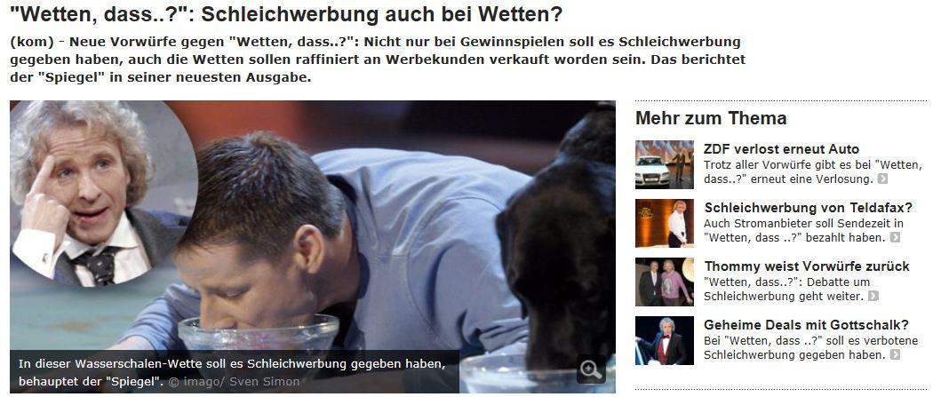 Gottschalks Rettungsversuch aus dem Fressnapf-Skandal