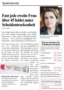 Zeitungen zensieren Anzeigenveršffentlichung / Frauenthemen nicht erwŸnscht