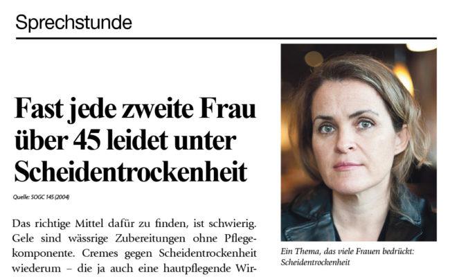 Abgetropft: Dr. Wolff beklagt Boykott von Intimcreme für die Frau
