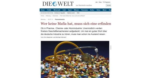 """Robert-Bosch-Stiftung fördert Recherche gegen """"Pharma-Lobby"""""""