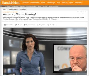 Commerzbank-Chef Blessing packt den Stier an den Hörnern
