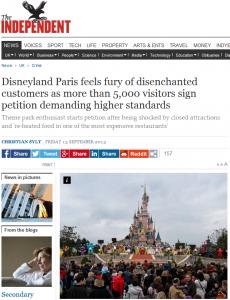 Disneyland-Krise: Enttäuschter Besucher startet Online-Petition
