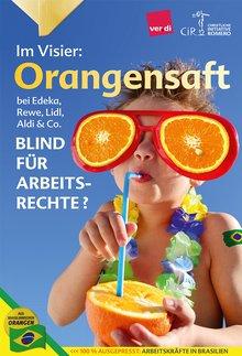 ver.di brandmarkt Edeka als Orangensaft-Kapitalist