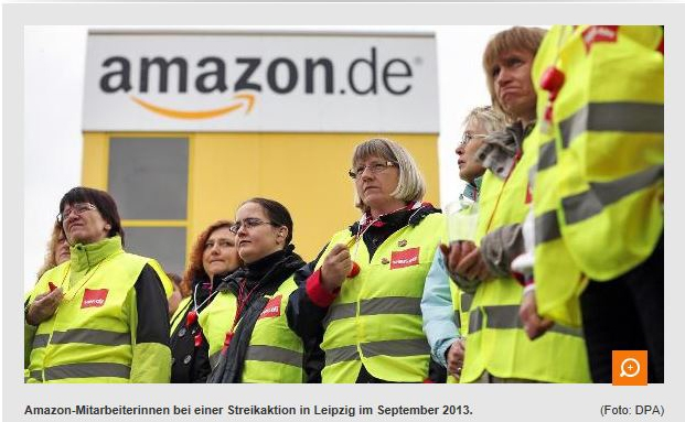 Überreizt ver.di? Streiks bei Amazon im Advent