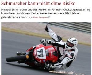 Schumacher-Unfall: vom Shitstorm gegen Die Welt lernen
