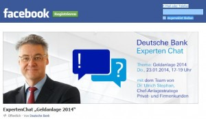 Papst und Deutsche Bank: Die im Internet sind gemein!
