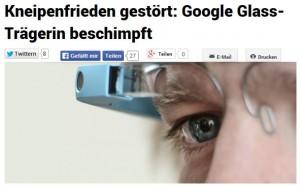 Google kämpft vergeblich mit Knigge gegen Datenbrillen-Krise