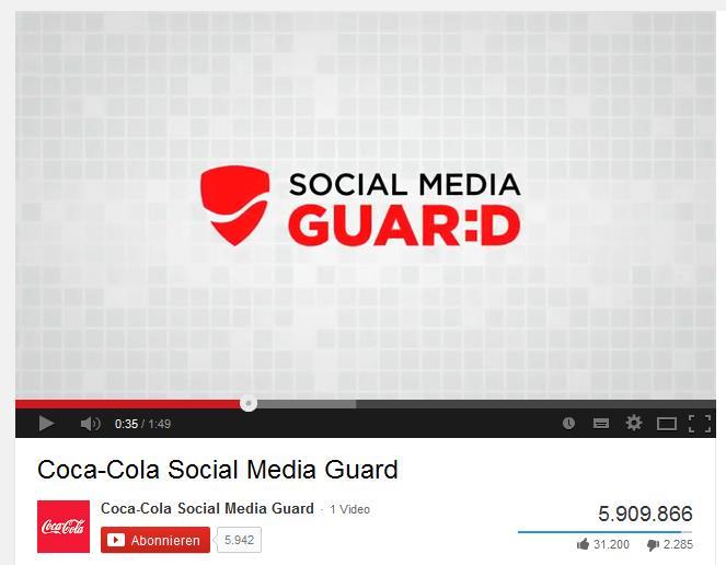 Screenshot Social Media Guard