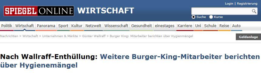Burger King PR-Krise