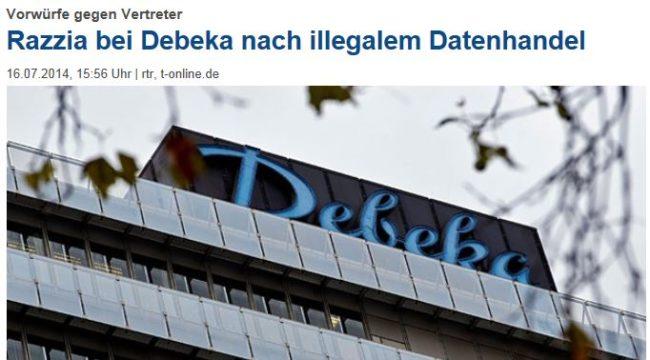 Debeka-Razzia