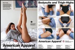 American apparel sexy