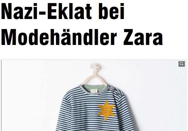 Zara Nazi Eklat