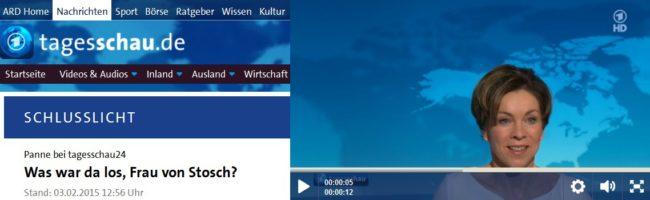 Tagesschau Panne Screenshot