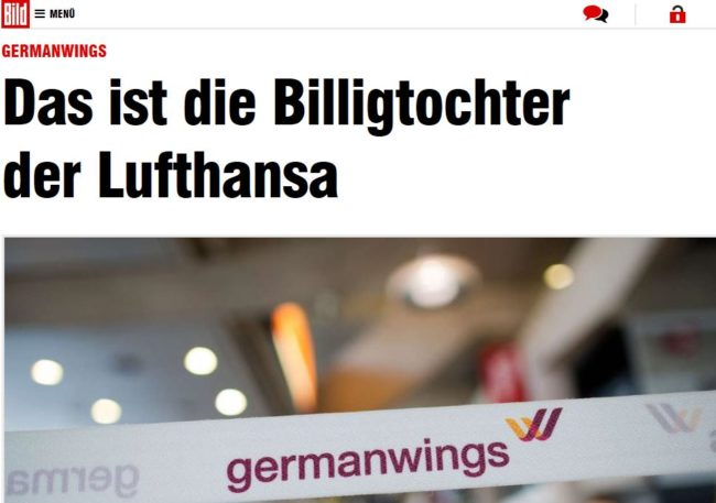 germanwings bild