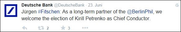 Deutsche Bank Tweet1