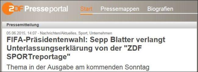 ZDF Blatter