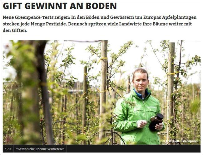 greenpeace apfelplantagen