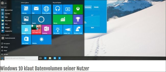 Windows 10 Krisen-PR