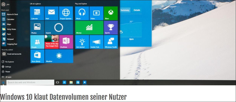 Windows 10 Krisen-PR