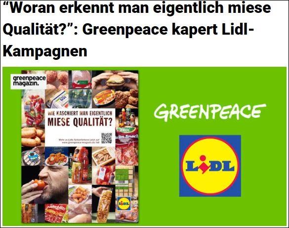 lidl greenpeace