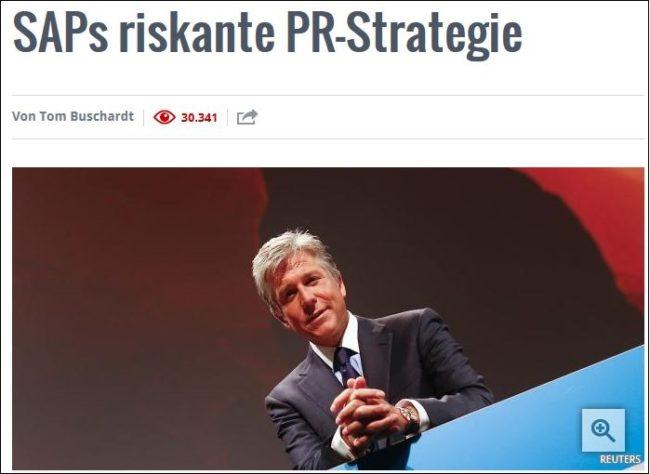 Krisen-PR SAP