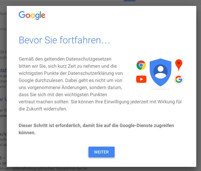 Google Sperrbildschirm
