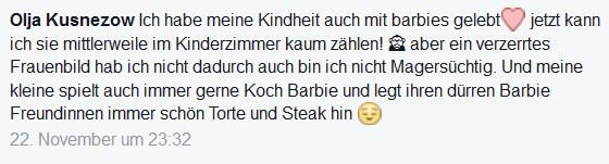 Screenshot Facebook-Kommentar: ""