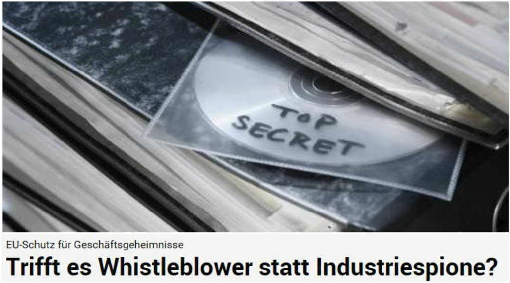Krisen-PR Geschäftsgeheimnisse