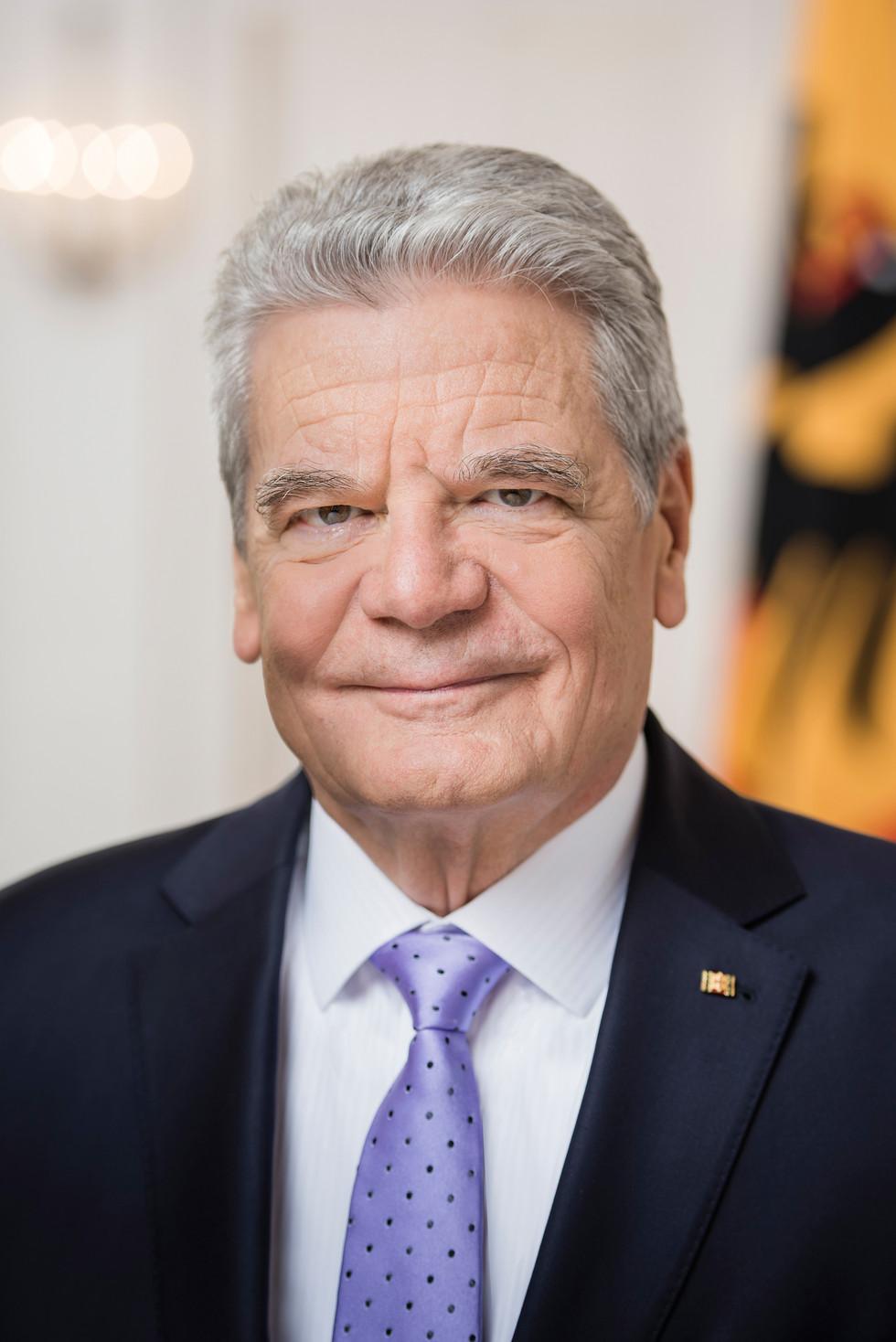 Offizielles Portaitfoto Bundespräsident Joachim Gauck