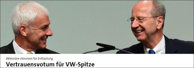 krisen-pr VW Vorstand