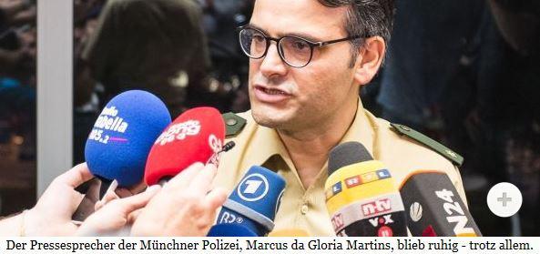 Krisen-PR Münchener Polizei