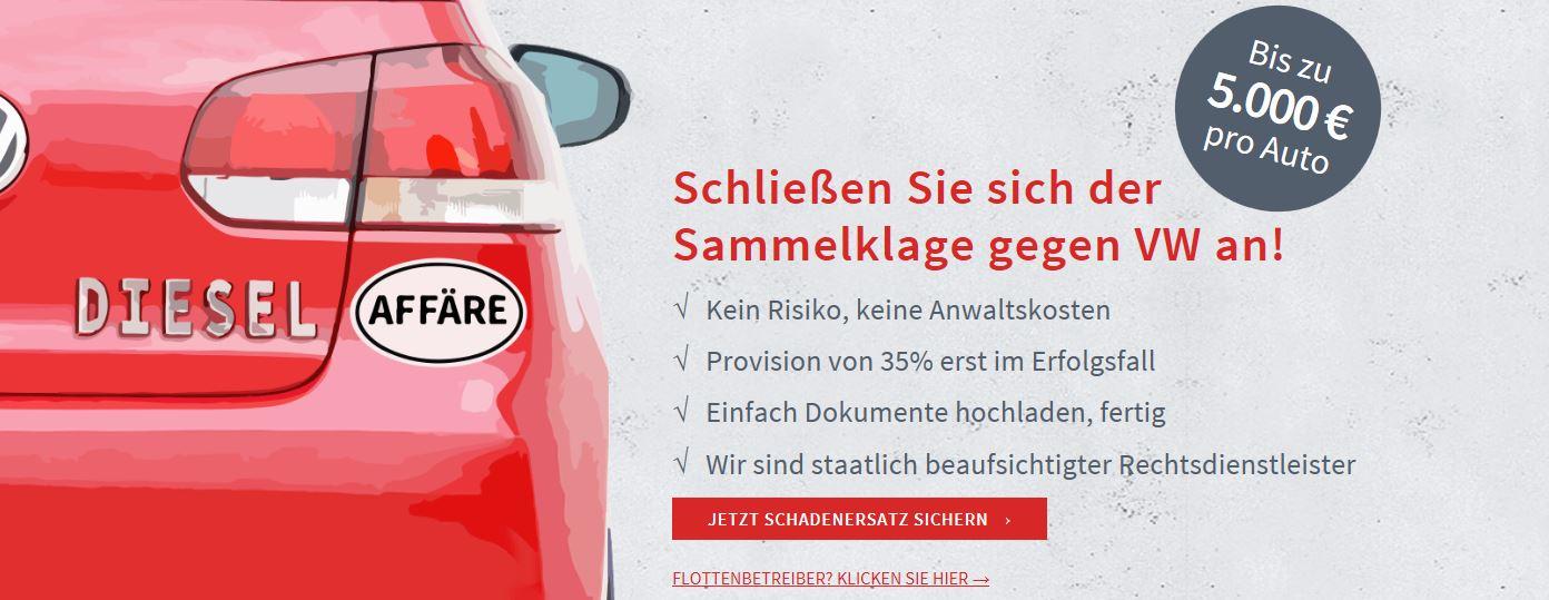 Krisen-PR VW-Klage