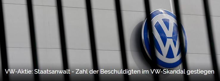 Krisen-PR VW Staatsanwalt