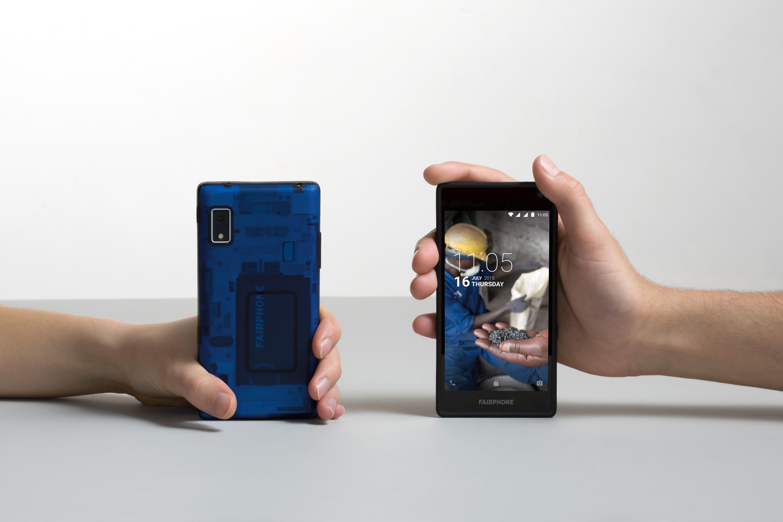 Das Fairphone 2 (Quelle: https://www.flickr.com/photos/fairphone/25882860055/in/album-72157654222299268/)