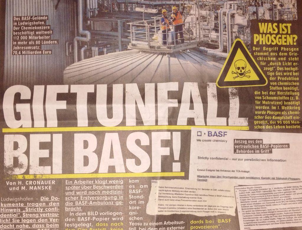 Wie Krisen-PR BASF in die Krise stürzt