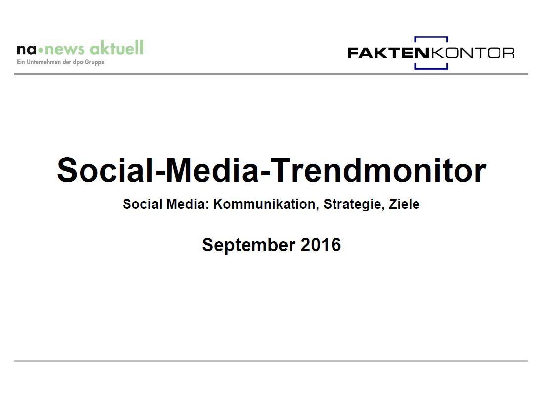 Trendmonitor September 2016