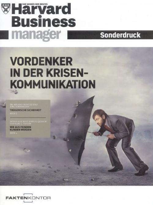 HBM Sonderdruck - Vordenker in der Krisekommunikation
