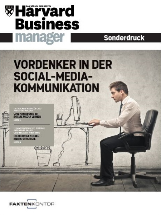 HBM Sonderdruck - Vordenker in der Social-Media-Kommunikation