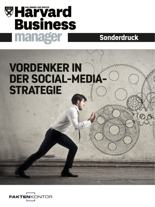 HBM Sonderdruck - Vordenker in der Social-Media-Strategie