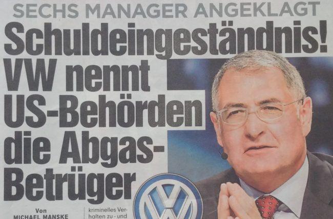 Krisen-PR VW USA