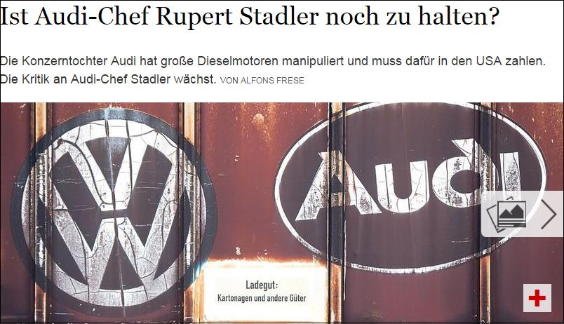 Krisen-PR Audi