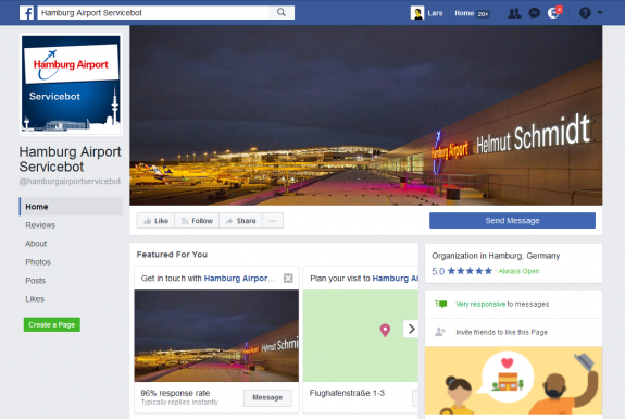 Der Chatbot beim Hamburg Airport - ein Erfahrungsbericht von der Social Media Week