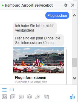 Der Chatbot beim Hamburg Airport - ein Erfahrungsbericht von der Social Media Week 3