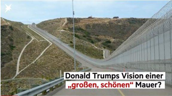 Krisen-PR: Hochtief will Mauer an US-Grenze bauen
