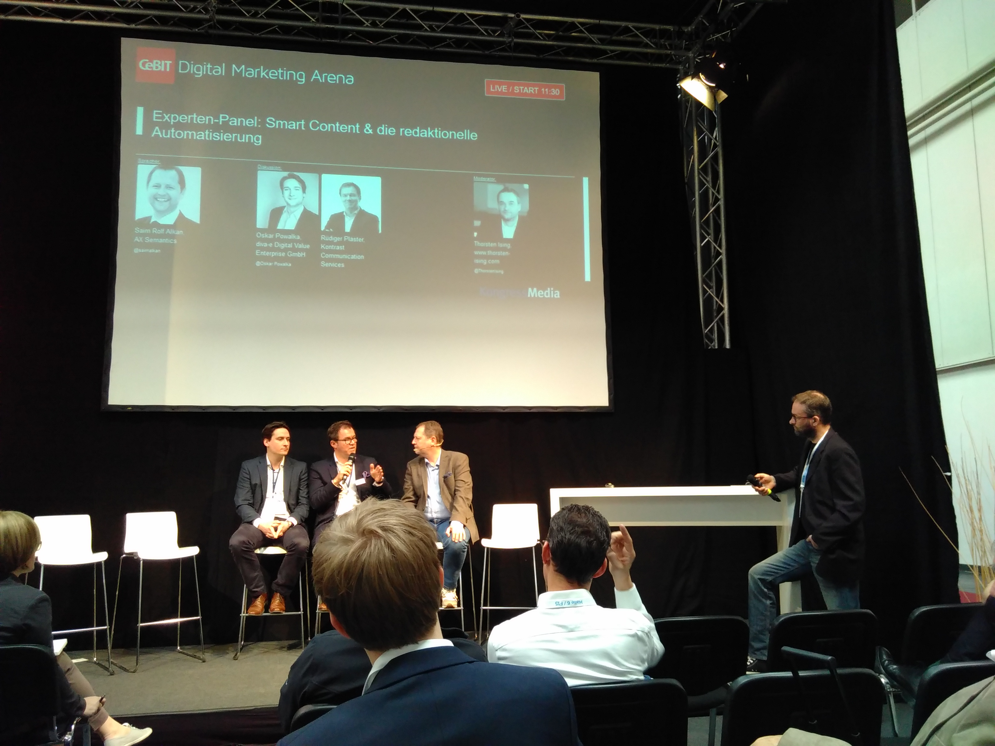 Experten Panel Content Automatisierung