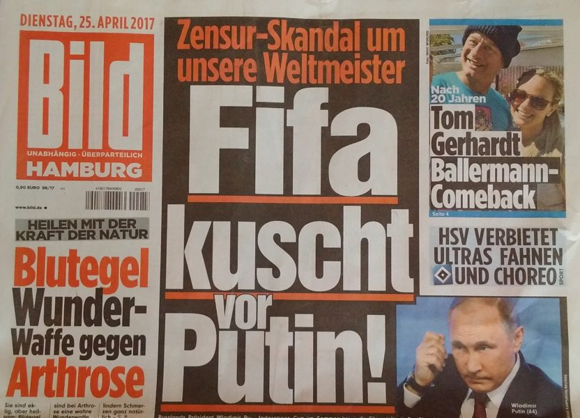Krisen-PR Fifa