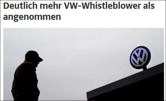 Krisen-PR: Verräter bei Volkswagen gesucht